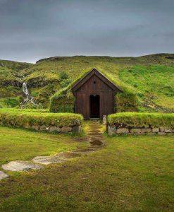 Thjorsardalur valley in Iceland