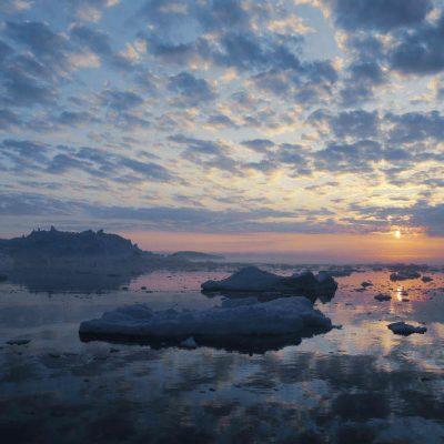 Icebergs of Greenland