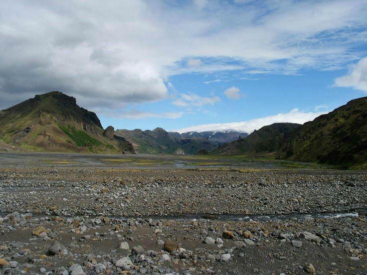 Þórsmörk (Thorsmork) mountain ridge.