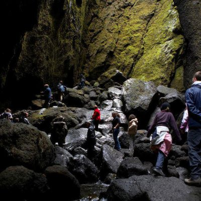 Stakkholtsgjá canyon in Þórsmörk.