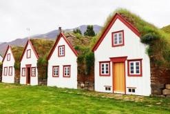 Traditional houses - Glaumbær Skagafirði, Iceland