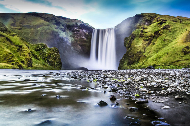 South shore - Iceland - Skogafoss