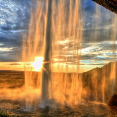 South shore - Iceland - Seljalandsfoss
