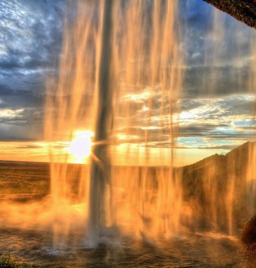 South shore - Iceland - Seljalandsfoss