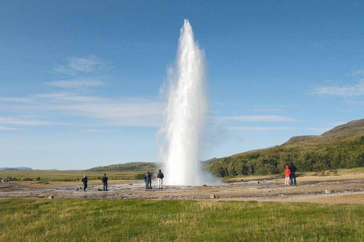 Geysir geothermal area